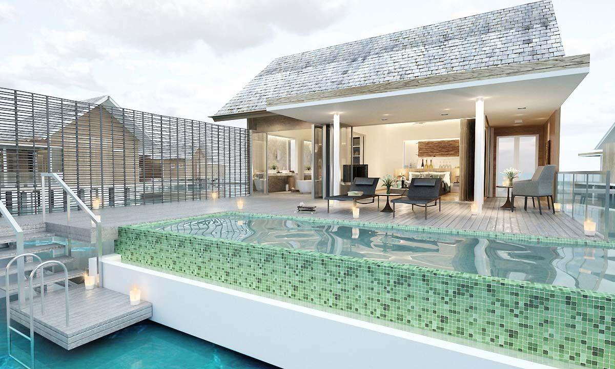 Sunset Water Villa With Pool Kuramathi Kuramathi Island Water