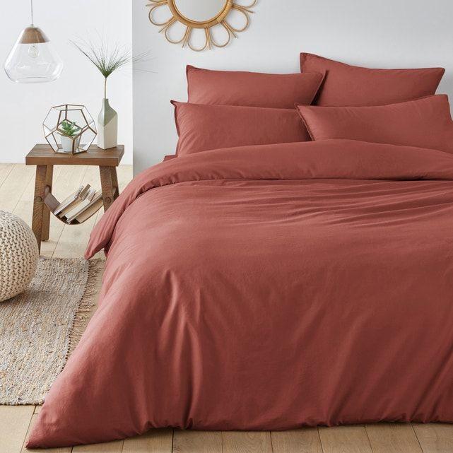 Photo of SCENARIO Plain Washed Cotton Duvet Cover