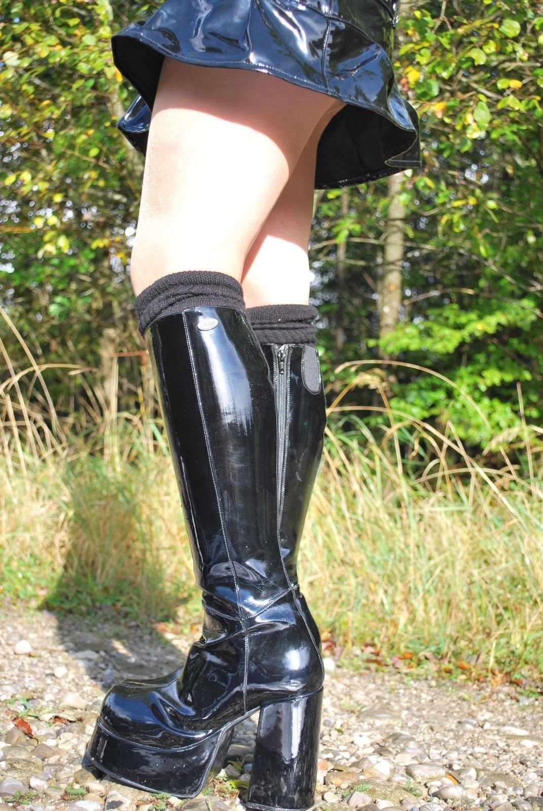 3dea17ab44e1 Patent leather boots