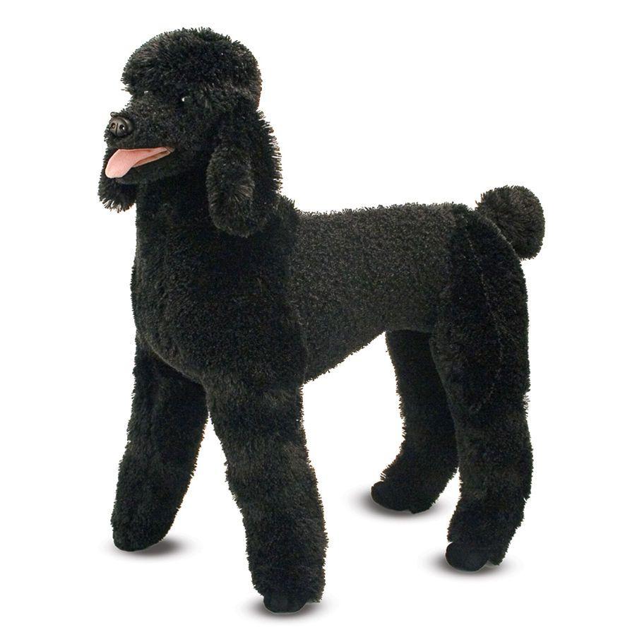 Melissa and Doug Standard Poodle Stuffed Animal