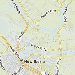 New Iberia Louisiana LA profile population maps real estate