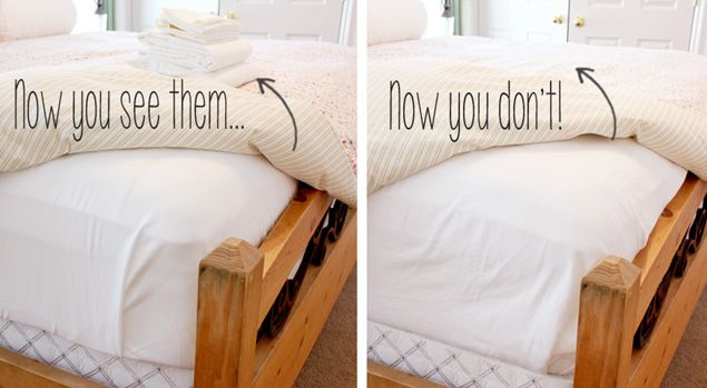 Home One Good Thing By Jillee Small Bedroom Storage Storage Hacks Bedroom Bedroom Storage