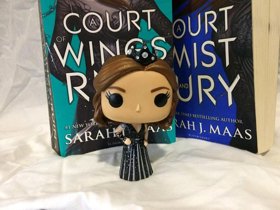 Custom Funko Pop High Lady Feyre Acotar Custom Funko Pop
