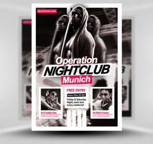 OperationNightclubFlyerTemplateX  Flyers And