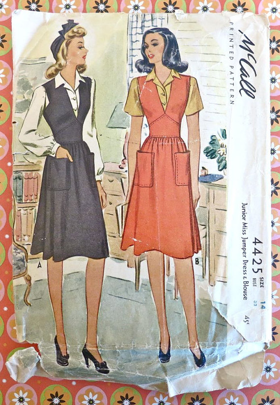 McCall\'s Printed Pattern | VS: Vintage CASUAL Fashions | Pinterest