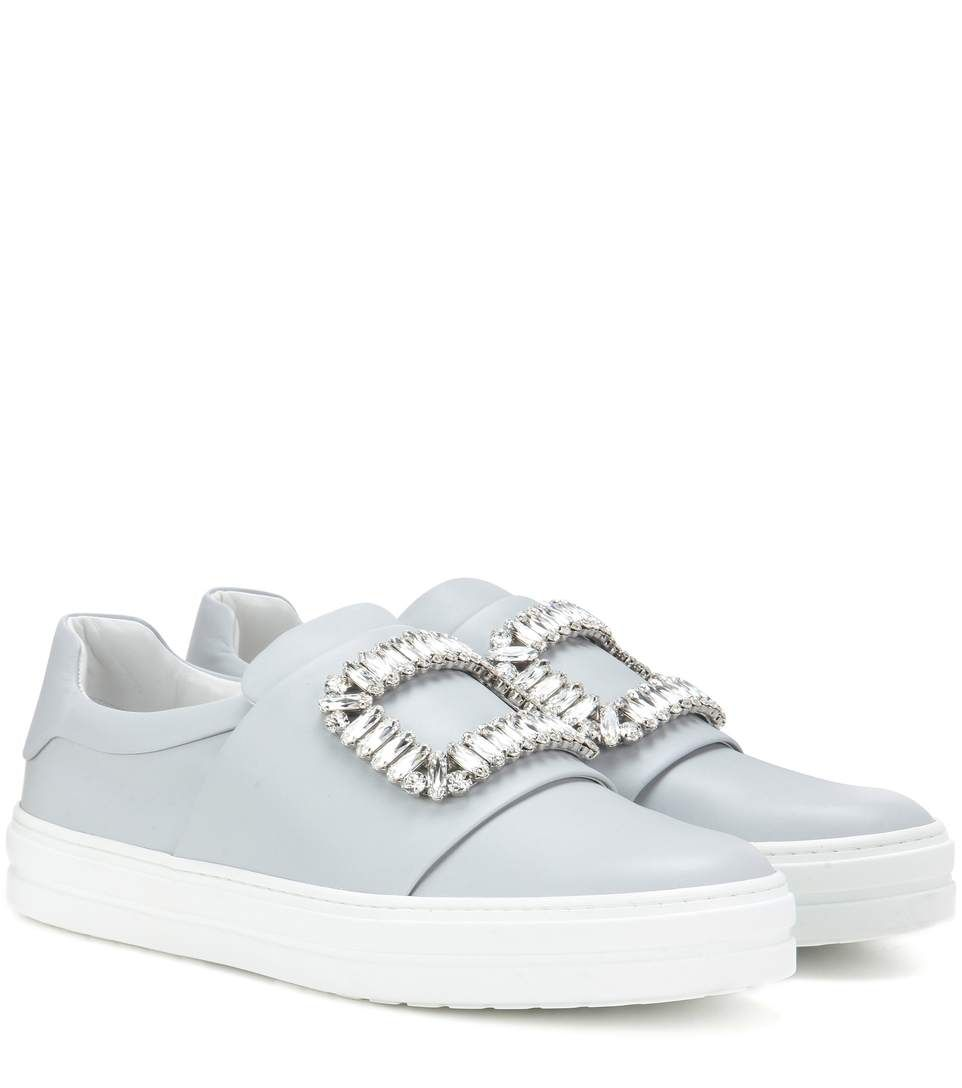 ROGER VIVIER. Roger VivierLeather SneakersShoes SneakersShopFlatsSneakers. Roger  Vivier Sneaky Viv ...