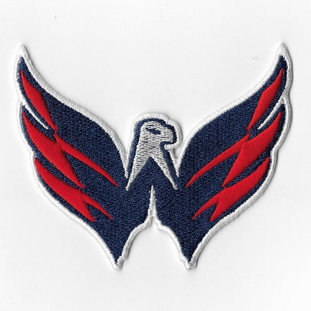 buy popular 6e3fe 0beb8 Washington Capitals NHL Iron on Patch Embroidered Patches ...