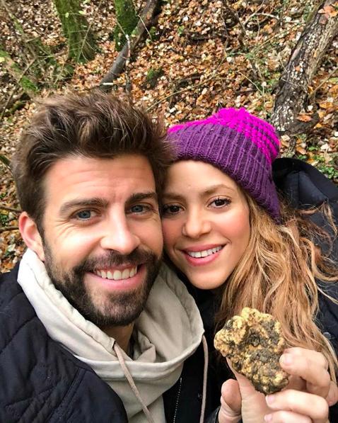 Shakira Y Piqué Calman Rumores Con Hermosa Foto Familiar Shakira
