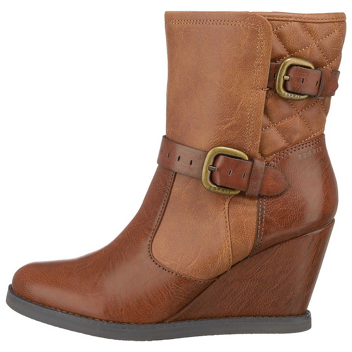 Esprit Wedge Stiefeletten Shoes Boots Shoes Boots Sandals Oh
