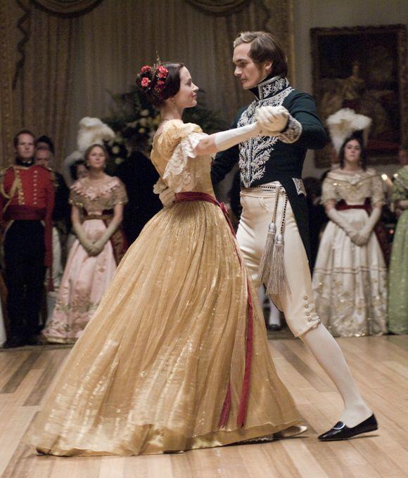 Queen Victoria (Emily Blunt) & Prince Albert (Rupert ...