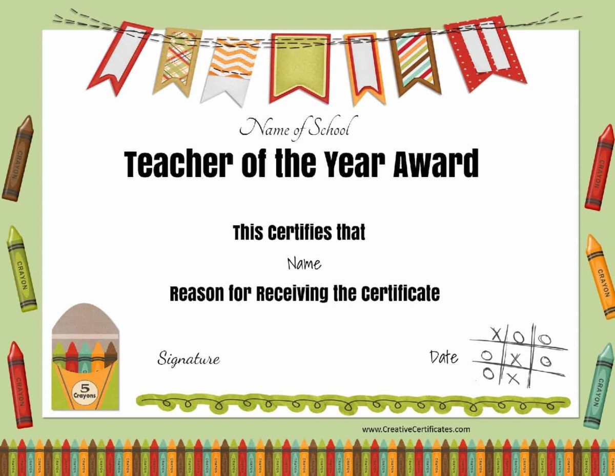 Free Certificate Of Appreciation For Teachers Customize Online Intended For Teacher Of The Month Cer Teacher Certification Teacher Awards School Certificates