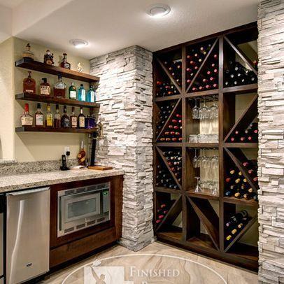 43 Insanely Cool Basement Bar Ideas for Your Home | Bar, Cava y Estufas