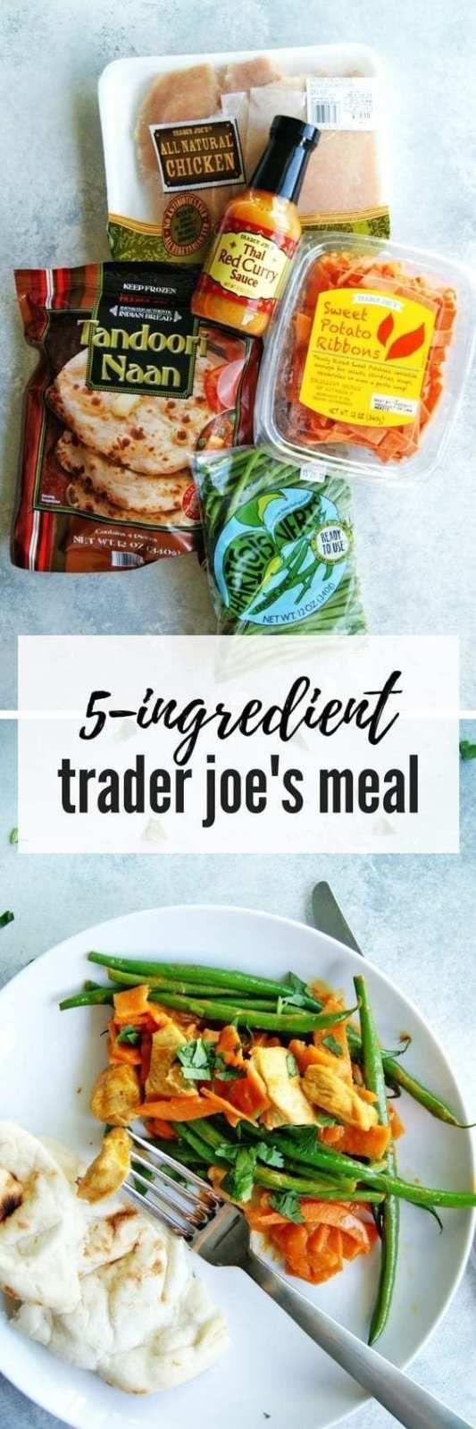 Easy Trader Joe's Recipe: Chicken & Vegetable Curry - My Everyday Table #quickdinnerideas