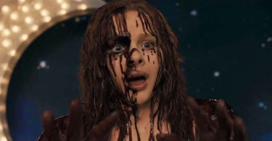 Fright Nights - CARRIE (2013) | Warped Factor - Words in the