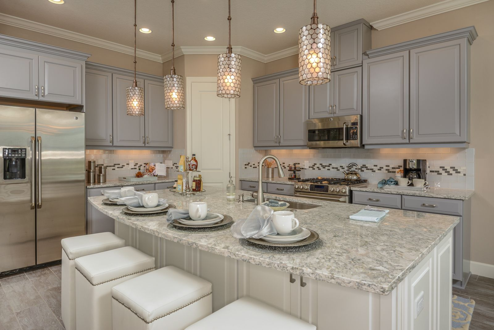 Esplanade Golf Country Club At Lakewood Ranch Newhome Design Dreamhome Luxuryhomes Elegant Living Insta Hacienda Lakewood Ranch Kitchen Cabinet Colors