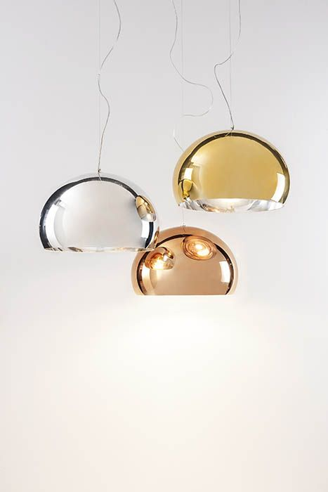 Kartell metal a new precious touch kartell laluce licht design chur lights and lamps - Kronleuchter stehlampe ...