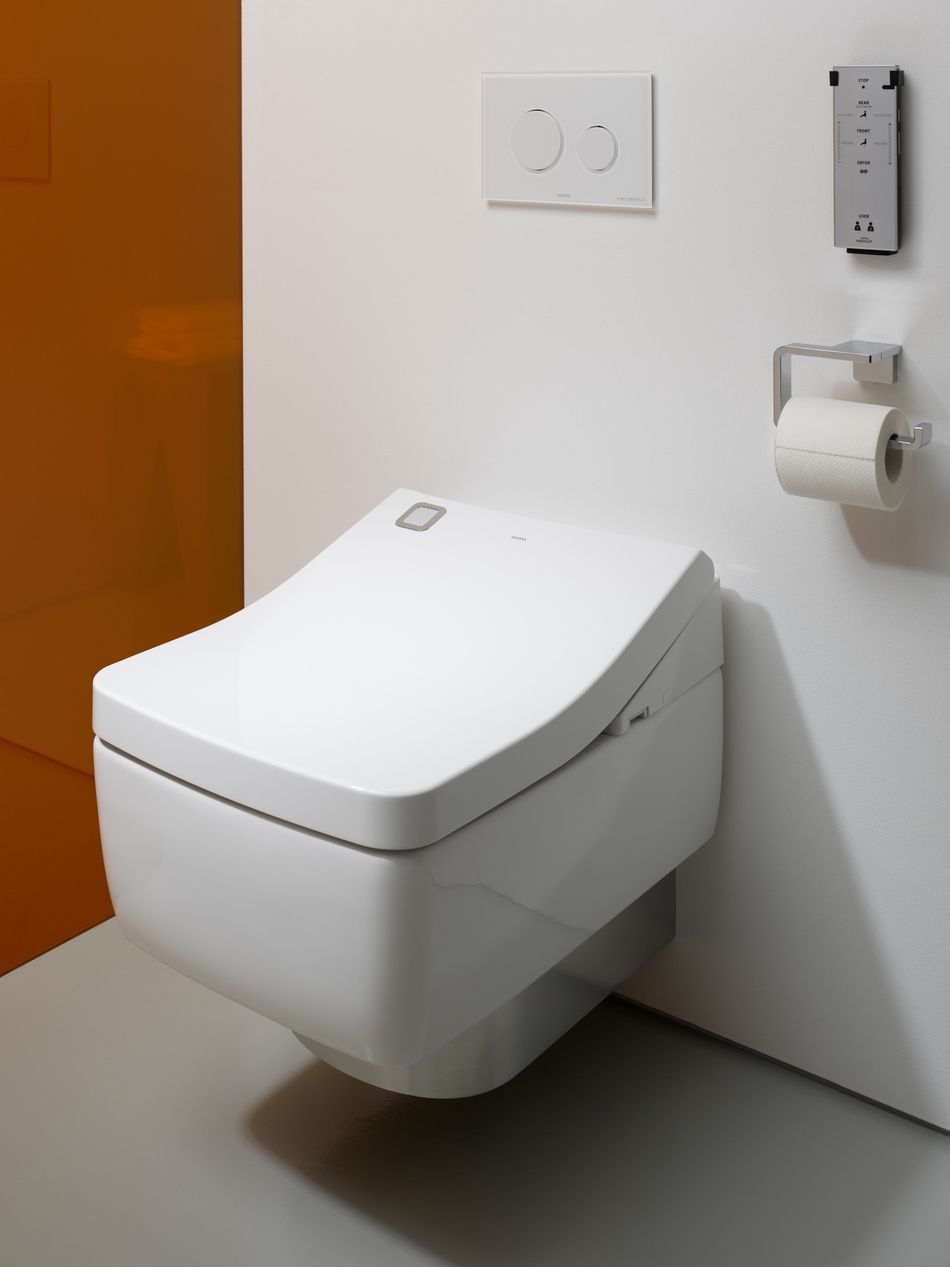 De washlet is TOTO\'s vlaggenschip. Deze innovative douche-wc heeft ...