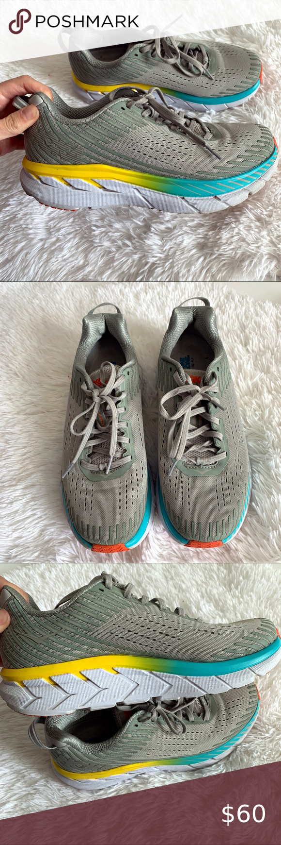 Wide running shoes
