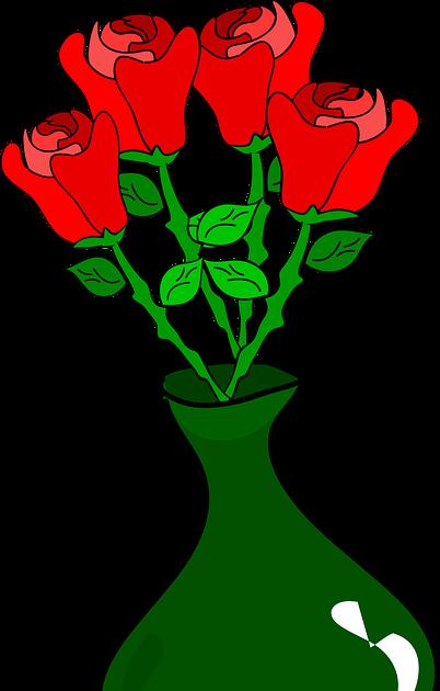 Gambar Taman Bunga Mawar Kartun Ideku Unik