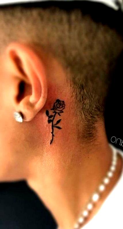 44 Best Ideas For Tattoo Tree Arm Men Guys Tattoo Rose Tattoo Behind Ear Neck Tattoo For Guys Neck Tattoo