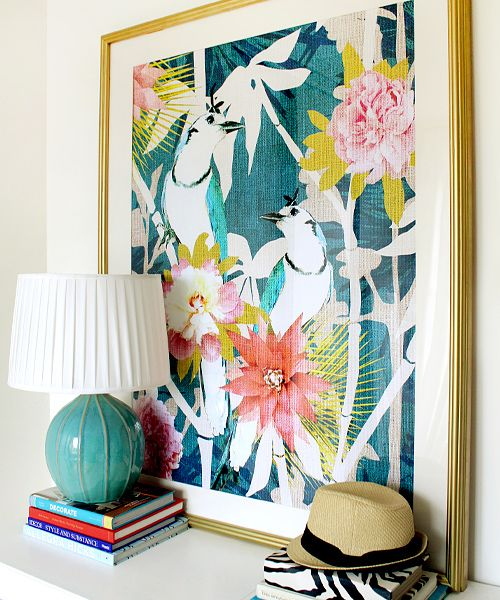 Sweet chinoiserie fine art print by cozamia
