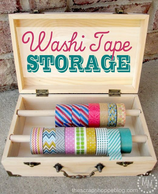 The scrap shoppe washi tape storage cards gifts ideen f r selbstgemachte karten und - Washi tape bastelideen ...