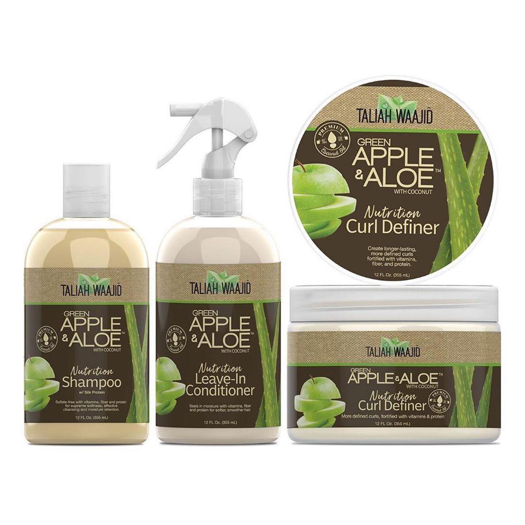 Taliah Waajid Natural Hair On Instagram Green Apple Aloe Curly Coily Definer Regimen Taliah Waajid Green Apple Aloe I Coily Hair Care Regimen Wavy Curls