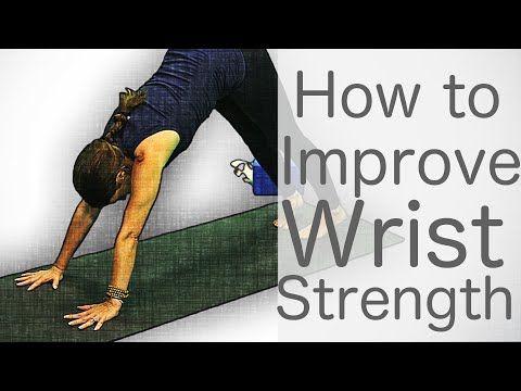 3 minute yoga tutorials how to improve wrist strength