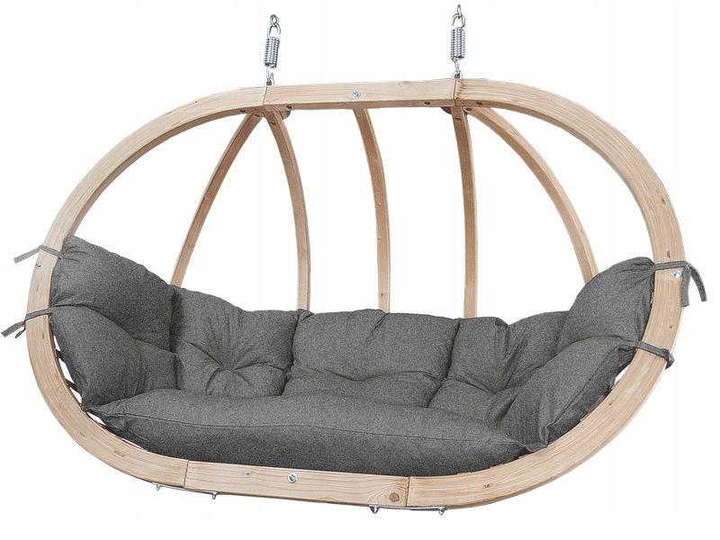 Fotel Wiszacy Ogrodowy Hustawka Kosz Kacper Grafit Hanging Chair Decor Hanging