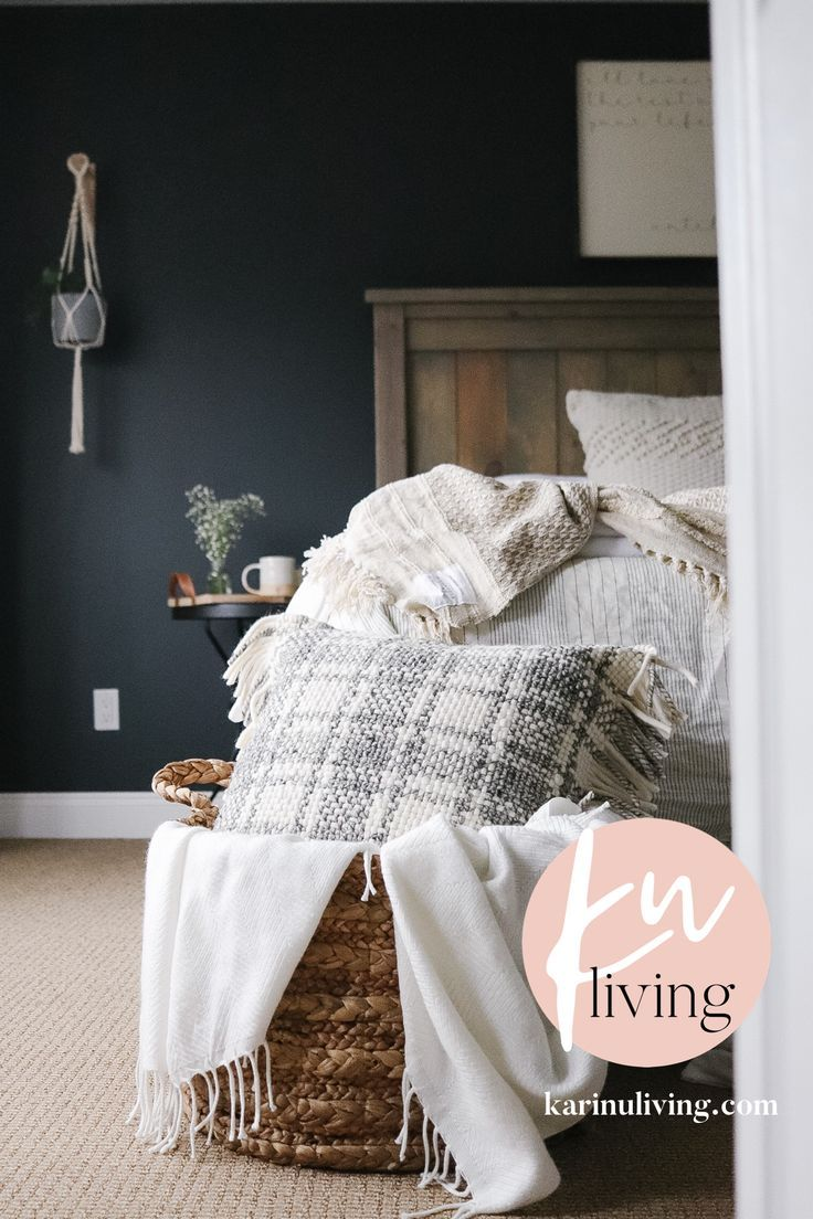A Winter Master Bedroom Refresh with Bed Bath and Beyond
