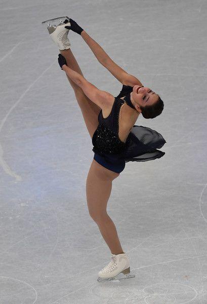 Kaetlyn Osmond of Canada performs during ladies short program of ISU World Figure Skating Championships 2017 on March 29, 2017 in Helsinki.    / AFP PHOTO / Daniel MIHAILESCU