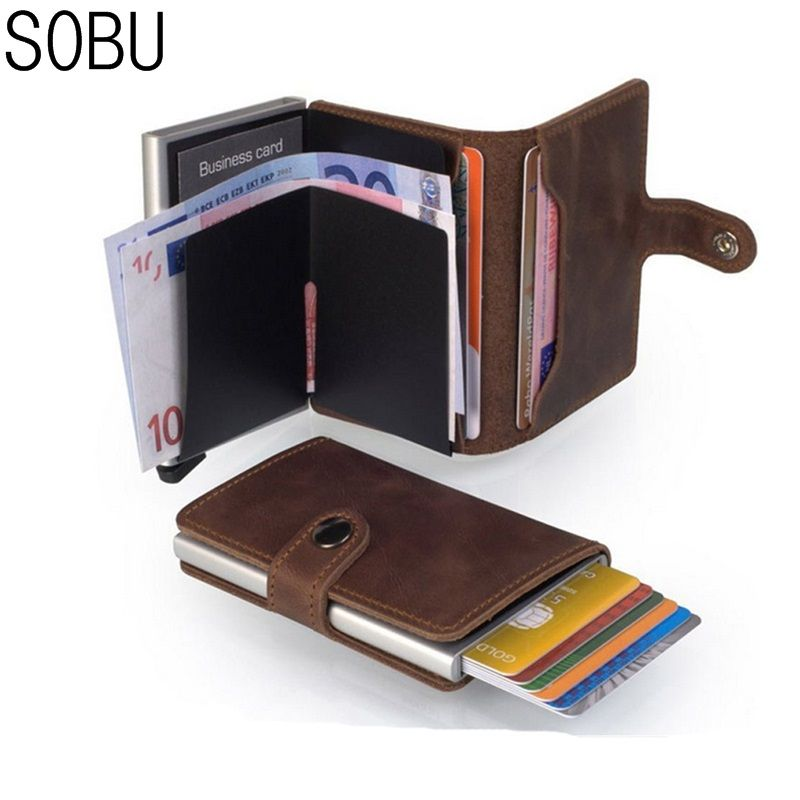 698301bb18b9 Anti-theft Minimalist Card Holder | Accessories | Business credit ...