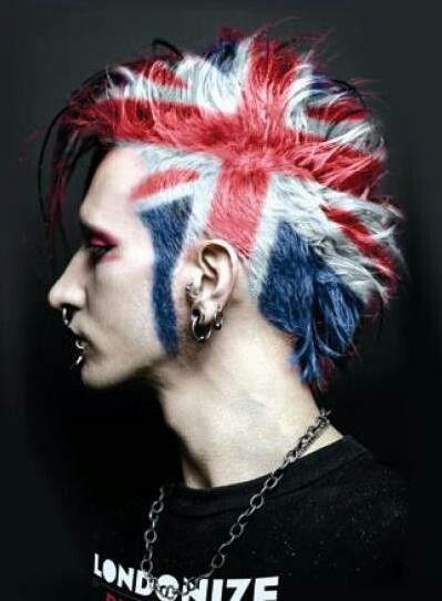 Pin By I Am Me 123 On Hair 3 Punk Hair British Punk Hair Styles