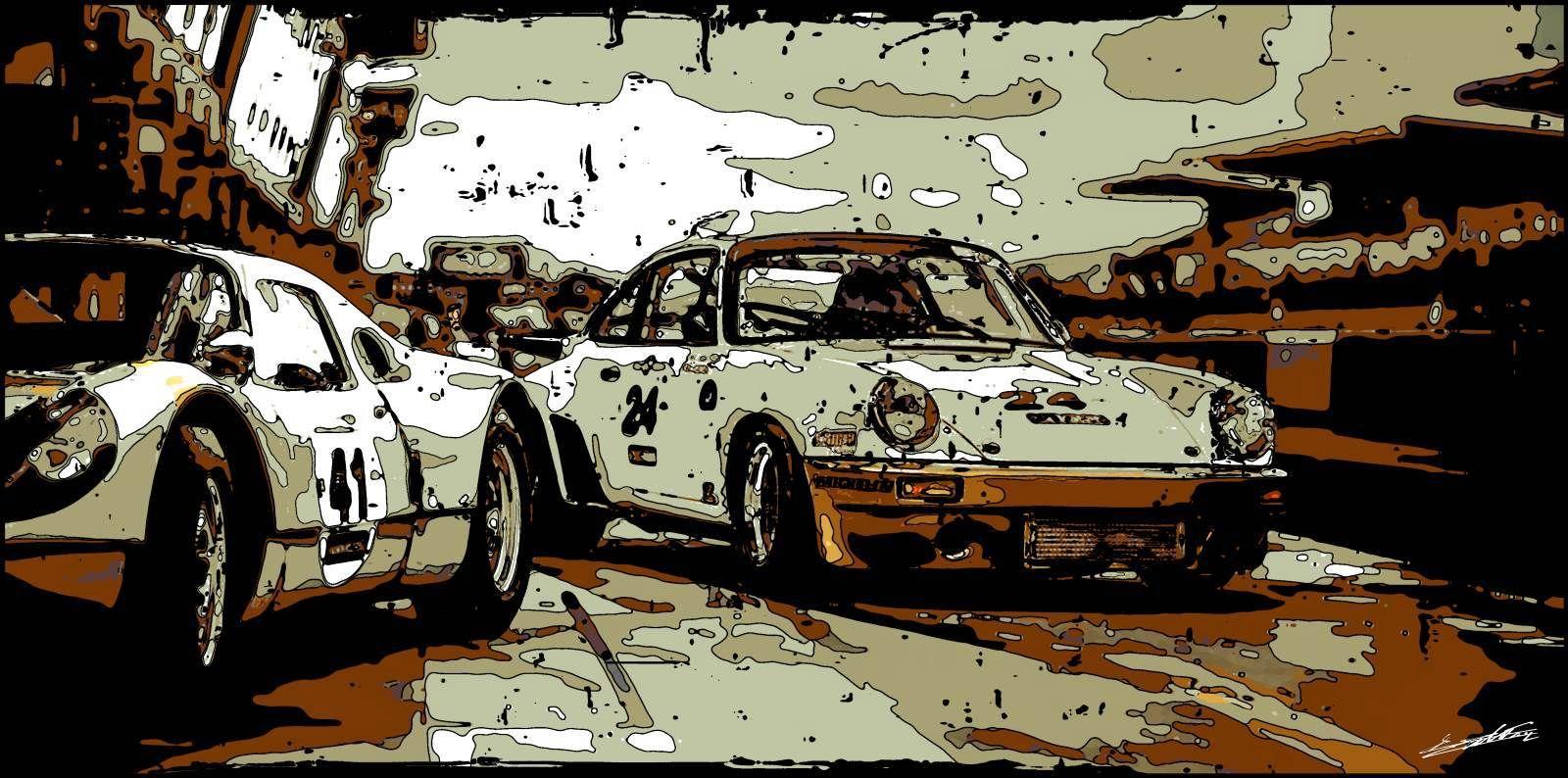 Tableau Peinture Porsche 911,Jusqu À 86%