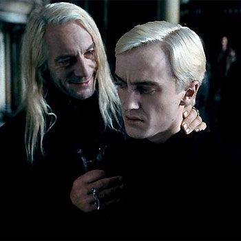 Deathly Hallows: Part 2. Lucius & Draco Malfoy.   Draco, Anime ...