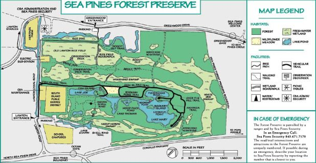 Visit the Sea Pines Forest Preserve! | THINGS TO DO | Forest ... on hilton head resort map, hilton head neighborhood map, beaufort map, st. james plantation map, channelside district map,