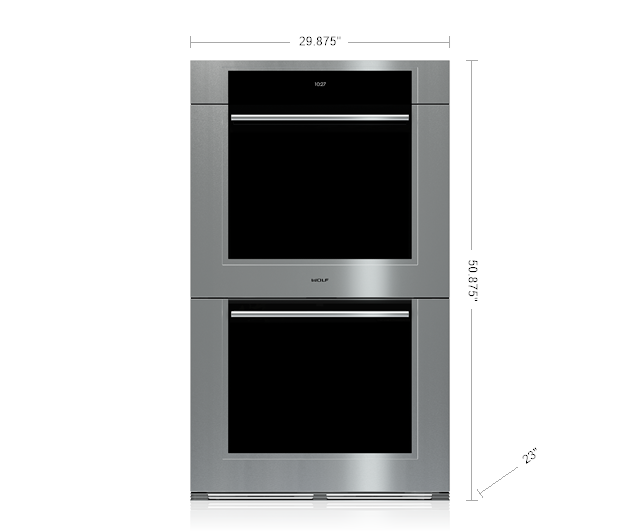wolf double oven. Wolf 30\ Double Oven