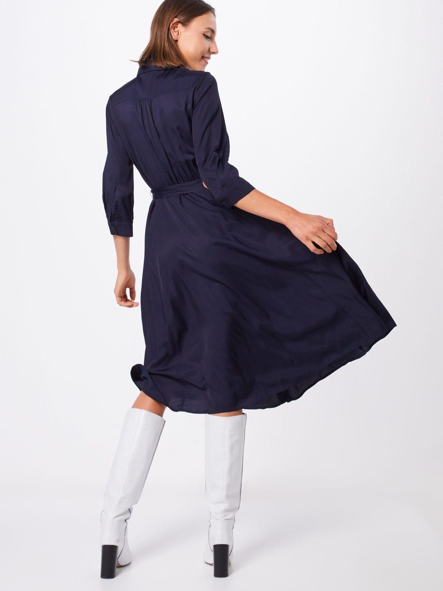 S Oliver Black Label Kleid Damen Blau Grosse 40 Kleid Arbeit Kleider Und Unterkleid