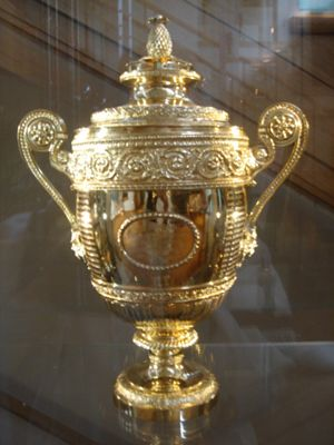 Wimbledon Mens Trophy Get Your FREE DOWNLOAD Of The SportsQuest App At Sportsquestapp SportsQuestApp