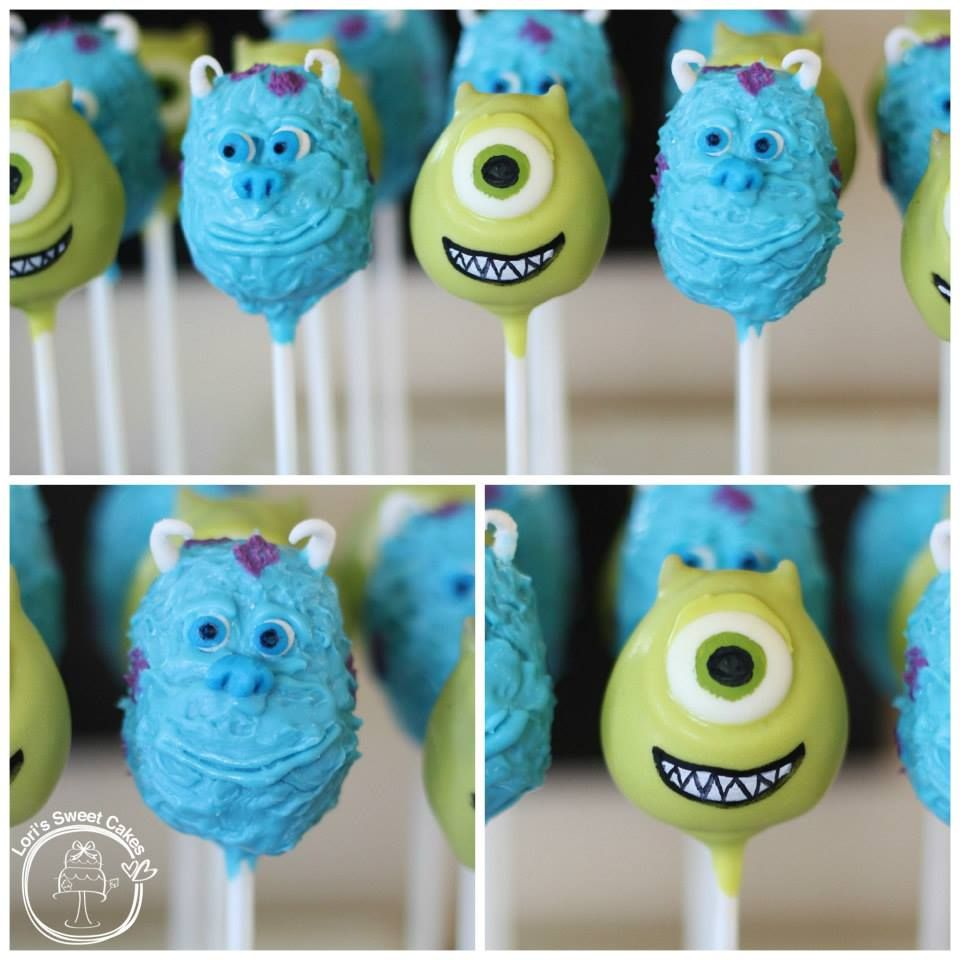 Celebrate Monsters University with Cake and Cupcakes