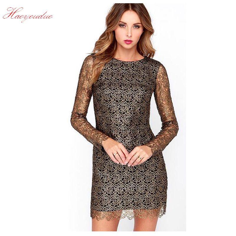 0bca3ea3e6 Free Shipping  Buy Best Women s dresses Spring summer Slim long ...