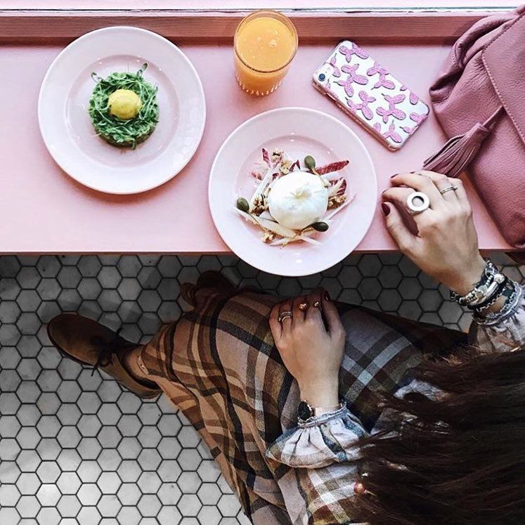"""2,024 Likes, 14 Comments - London Coffee shops (@londoncoffeeshops) on Instagram: """"Beautiful breakfast ☕️ at @sanspereofficial cafe . Have a lovely Friday everyone. :…"""""""