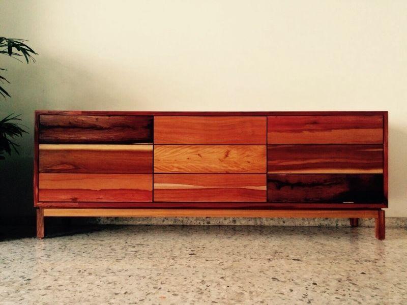 Cajonera de parota   furniture   Pinterest   Cajonera, Muebles de ...