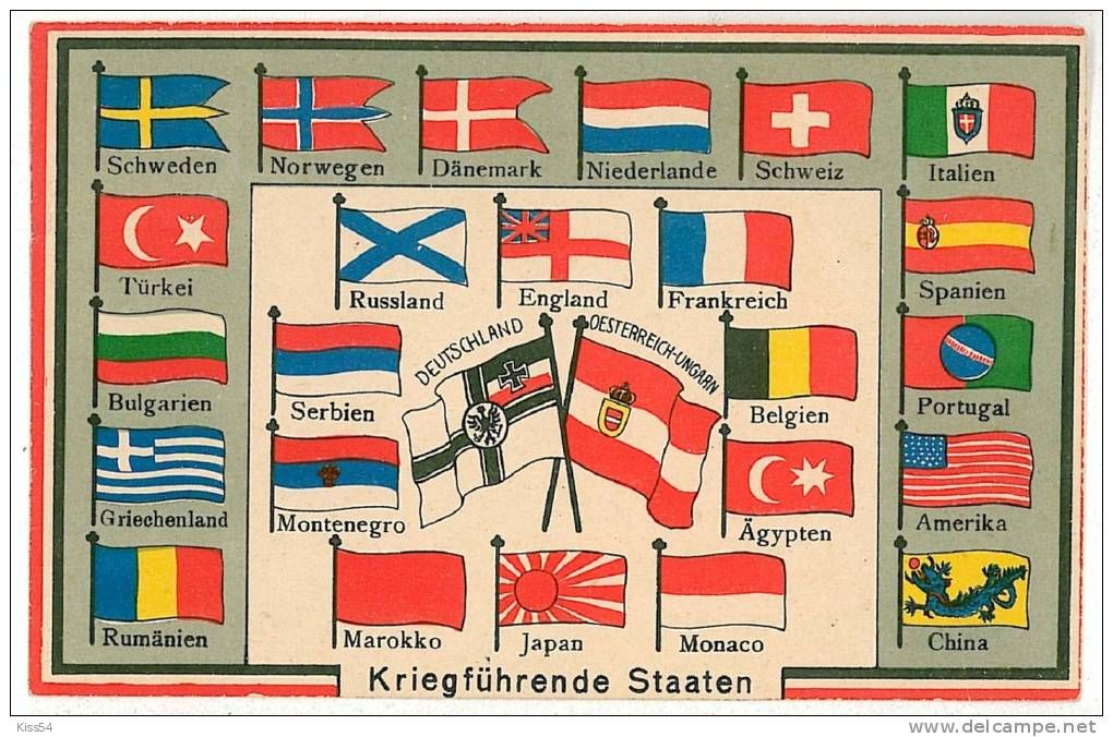 Old Flags Of The World In German Flags Of The World Historical Flags Flags Of All Nations