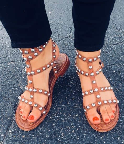 c9b9a67b203 Sam Edelman Studded Sandals  ShopStyle  shopthelook  SpringStyle   SummerStyle  MyShopStyle  BeachVacation  FestivalLooks  TravelOutfit  OOTD   sotd