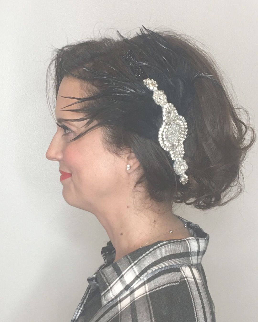 Updo For A Clients Party Done By Janet St Paul Updo Hairstyle