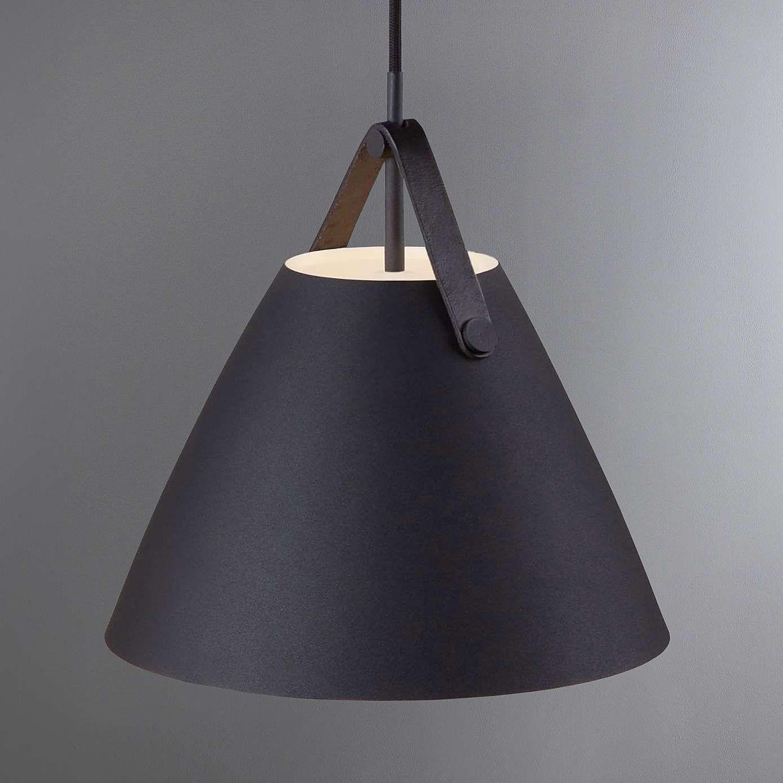 Strap Small Black Pendant Light Fitting Household Black Pendant Light Pendant Light Fitting Light Fittings