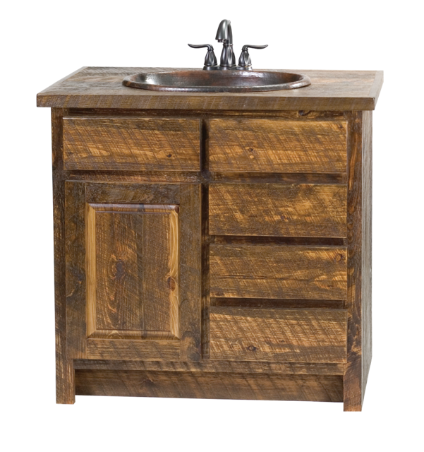 How To Faux Barn Wood Vanity For The Home Pinterest Wood Vanity Barn Wood And Vanities