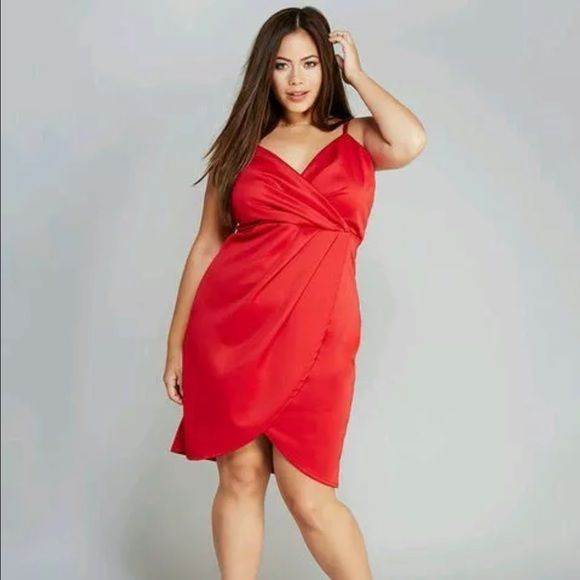 Plus Size Dress Size 3x New With Tags Cery Sexy Seductive Silky Look