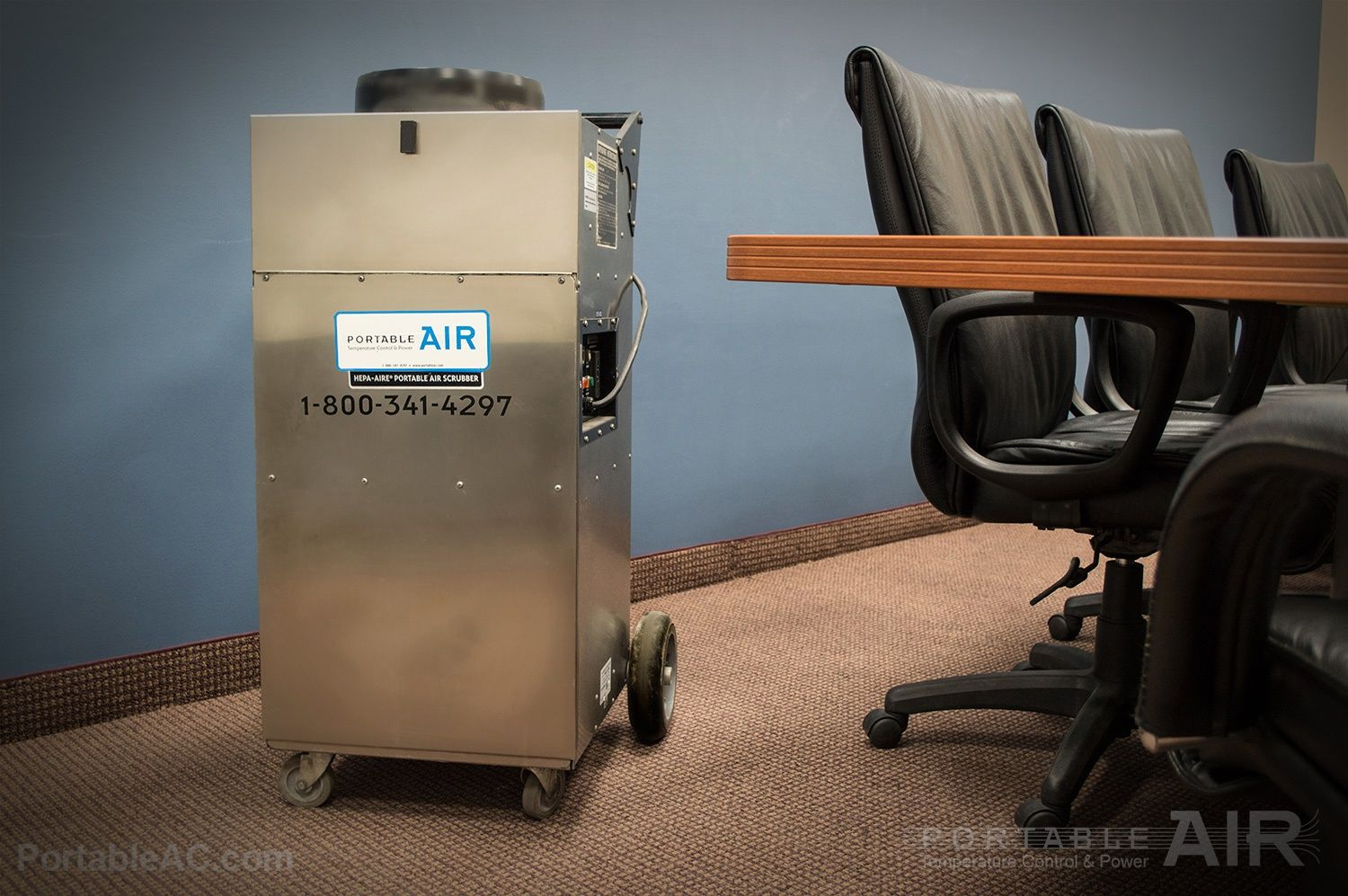Air Scrubbers and Spot Coolers What's the difference